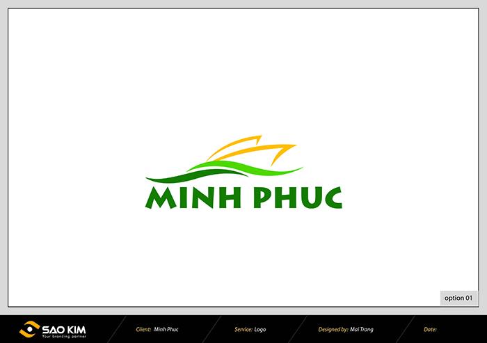 Thiết kế logo, nhận diện thương hiệu du lịch Minh Phúc tại Hà Nội