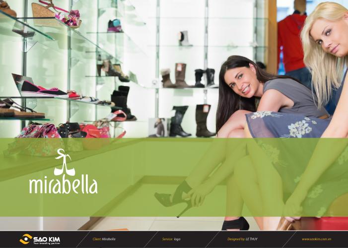 Thiết kế thương hiệu giầy dép MIRABELLA tại Bình Dương, TP HCM