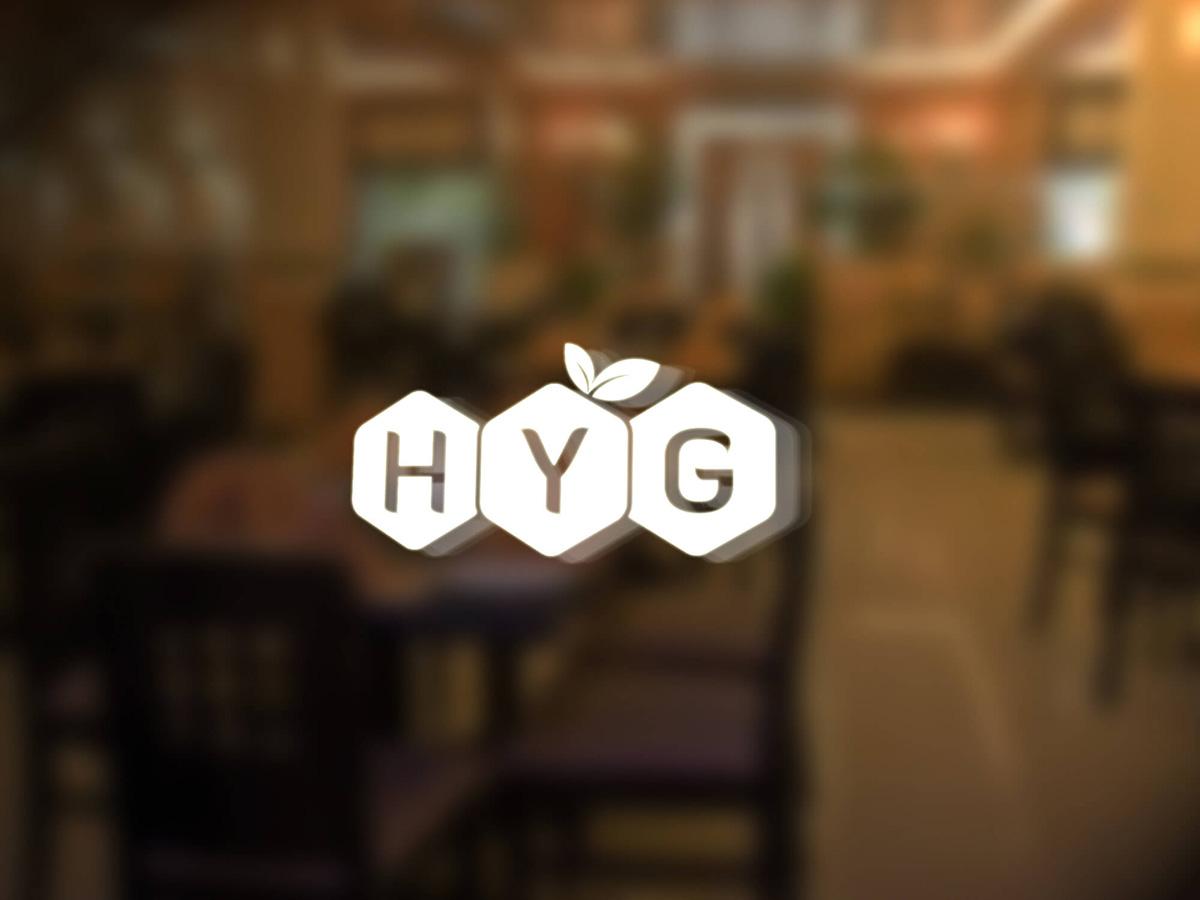 Thiết kế logo nông sản sạch HYG tại Hà Nội