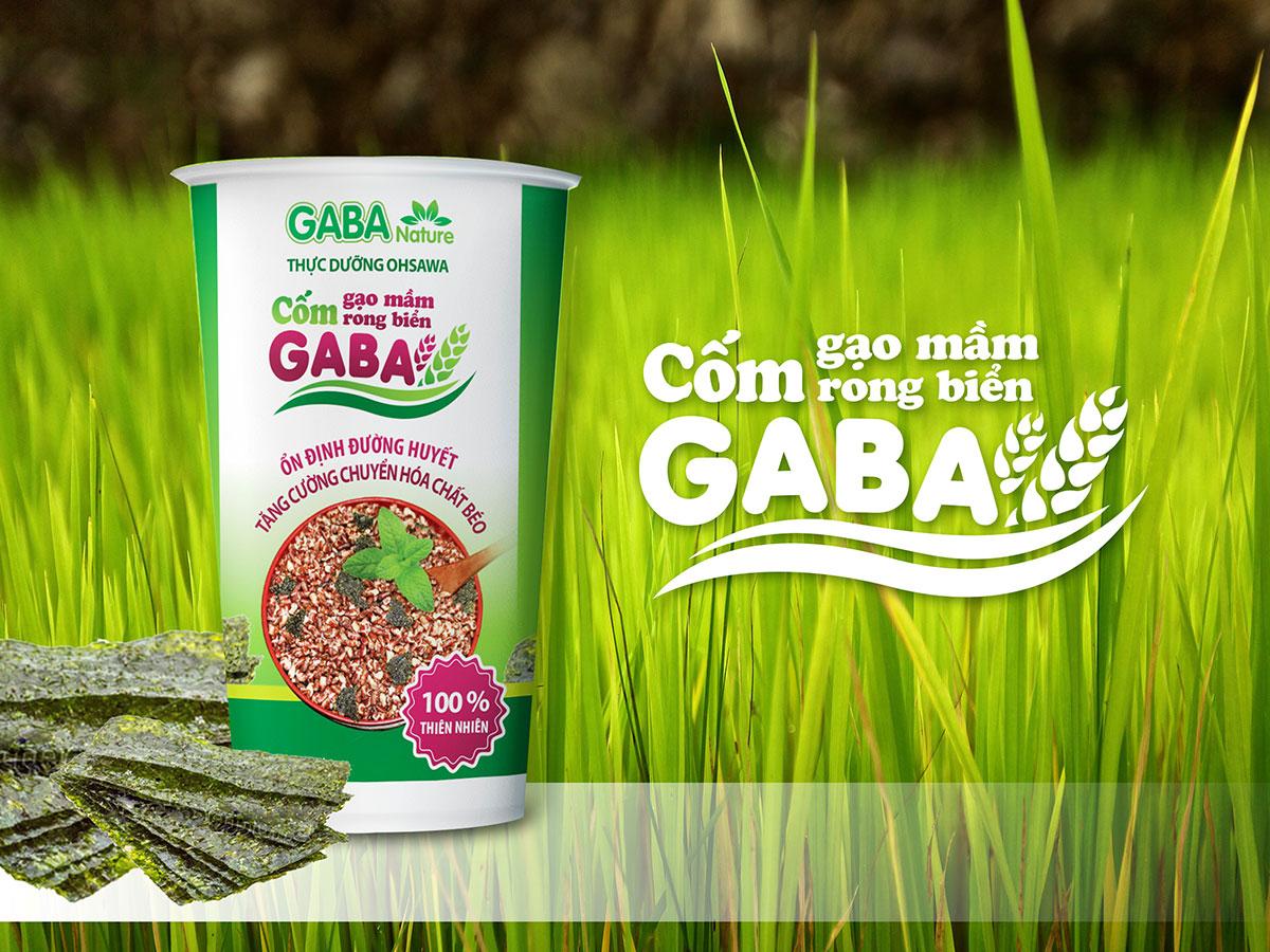 Thiết kế bao bì thực phẩm chức năng Gabanature tại TP HCM