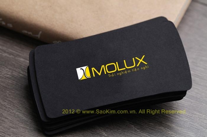 Thiết kế thương hiệu cho chuổi siêu thị nội thất MOLUX tại Hà Nội, Quảng Ninh