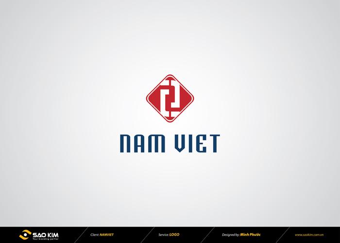 Thiết kế logo công ty sản xuất vải JEAN Nam Việt tại TP HCM
