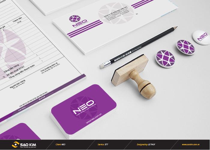 Thiết kế logo nhận diện thương hiệu cho thời trang móng NEO tại Hà Nội
