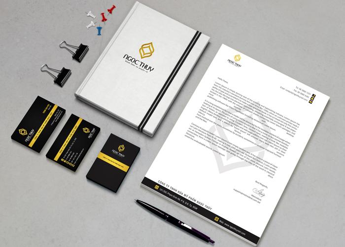Thiết kế hệ thống nhận diện thương hiệu Ngọc Thuỷ nail tại TP HCM
