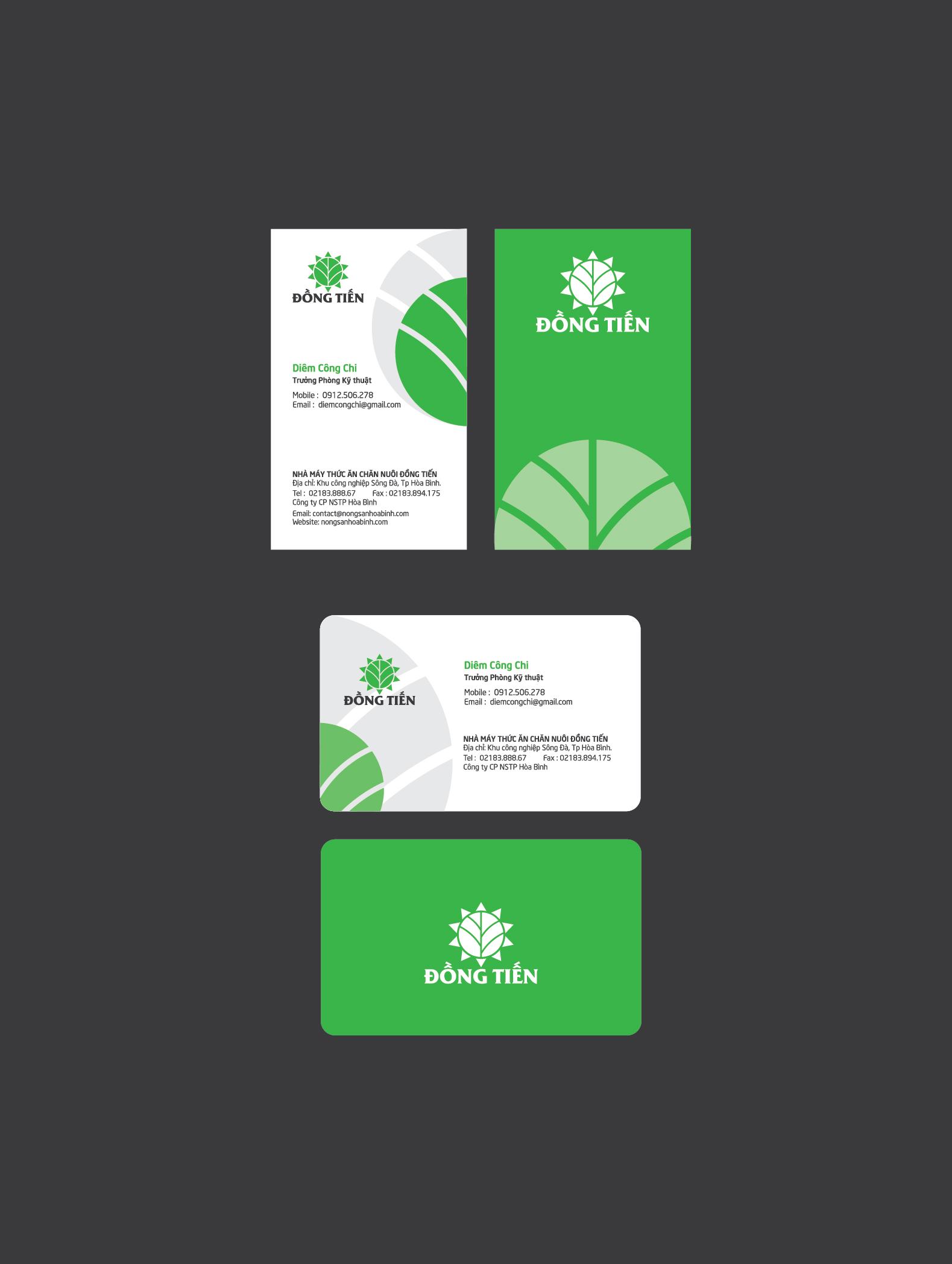 Thiết kế thương hiệu Nhà máy thức ăn chăn nuôi Đồng Tiến tại Hòa Bình