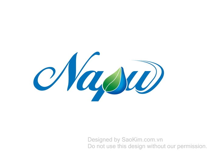 Thiết kế thương hiệu nước tinh khiết Napu tại TP HCM