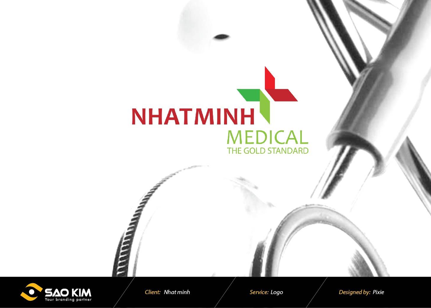 Thiết kế logo Công ty Thiết Bị Y Tế Nhất Minh tại Hà Nội