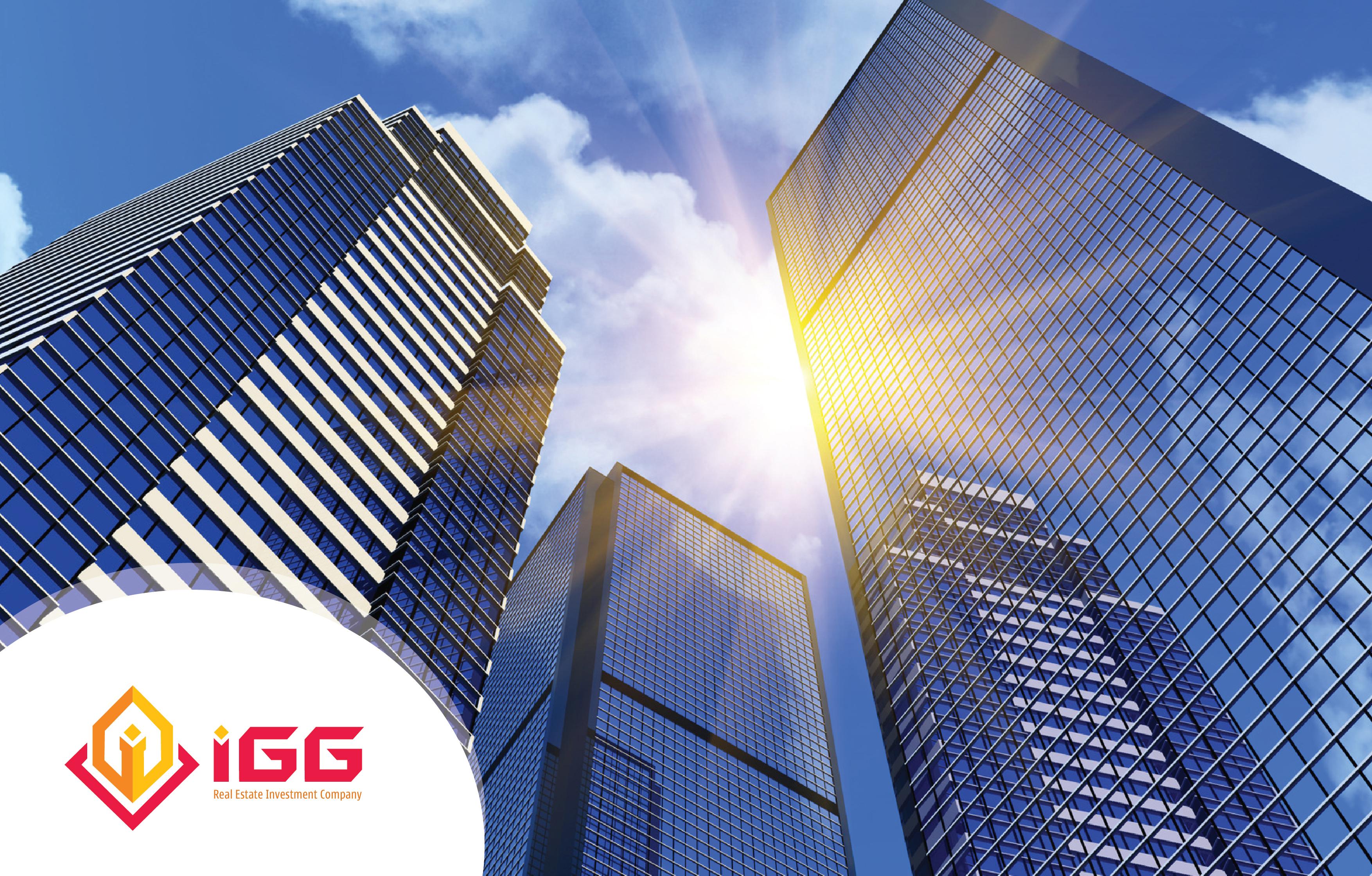 Thiết kế logo và nhận diện thương hiệu công ty bất động sản IGG tại Quảng Ninh