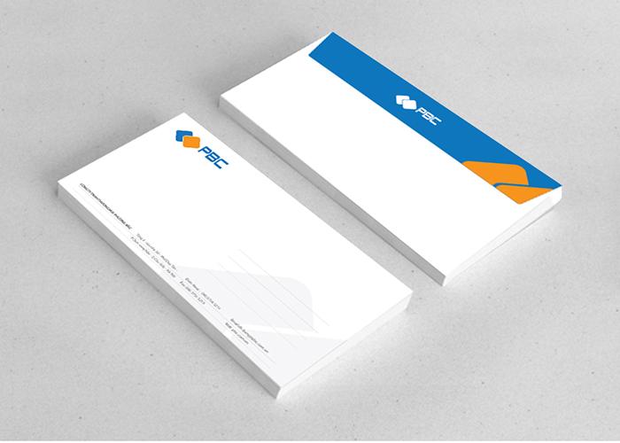 Thiết kế logo công ty thương mại Phương Bắc - PBC tại Hà Nội