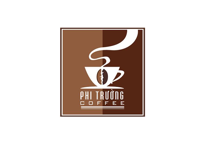 Thiết kế logo Phi Trường coffee tại TP HCM
