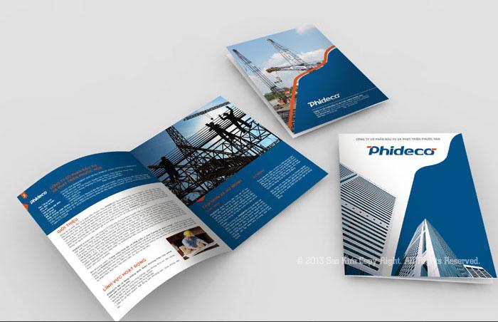 Thiết kế hồ sơ năng lực Công ty Cổ Phần Đầu Tư và Phát Triển Phước Hòa tại Bà Rịa Vũng Tàu