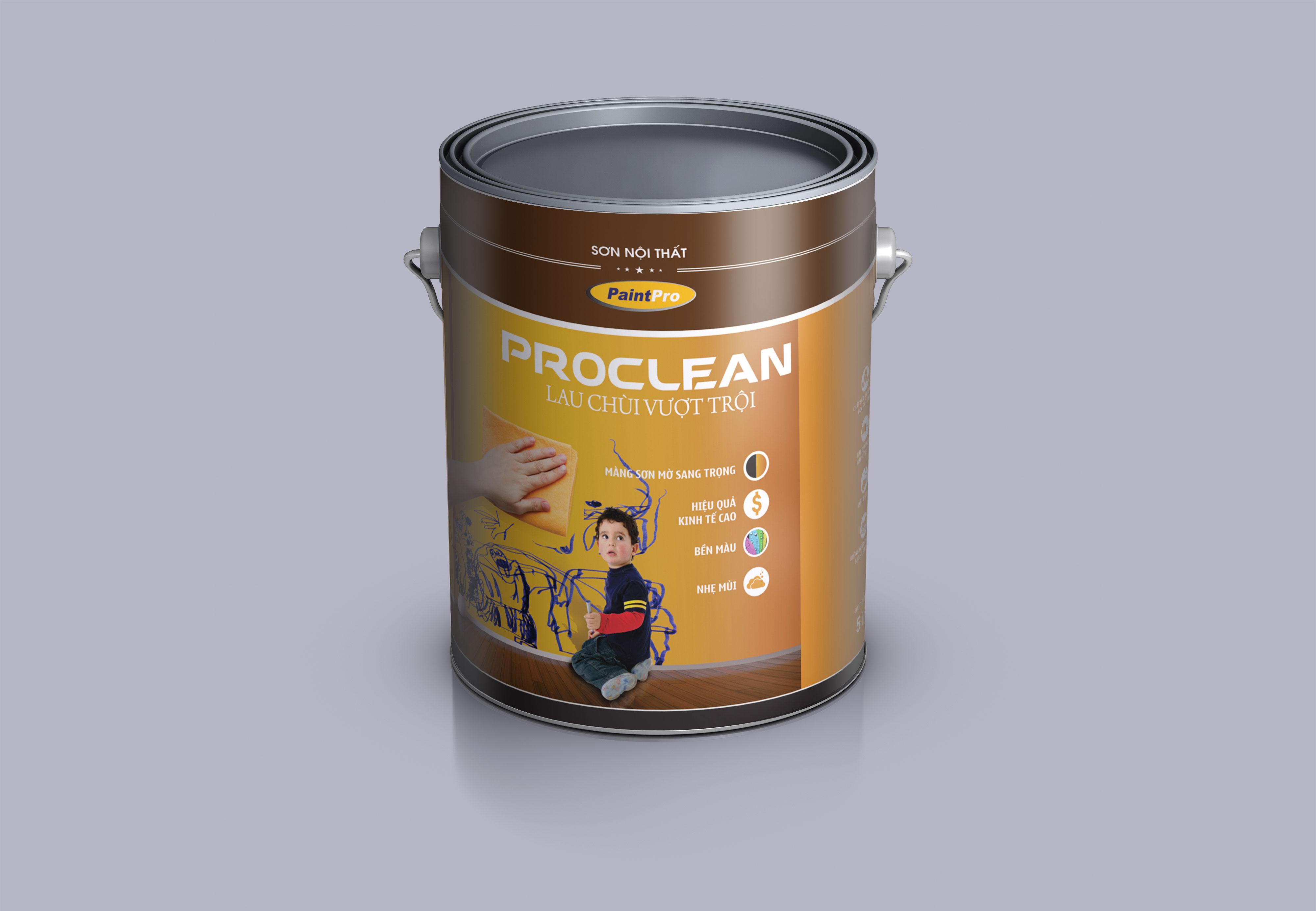 Thiết kế bao bì thùng sơn Công ty Cổ phần Giải pháp Sơn chuyên nghiệp PaintPro tại TP HCM