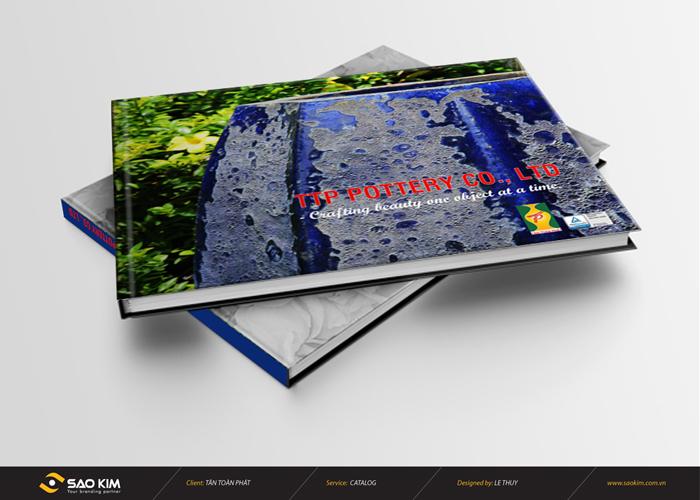 Thiết kế catalogue Gốm Sứ Tân Toàn Phát tại Bình Dương