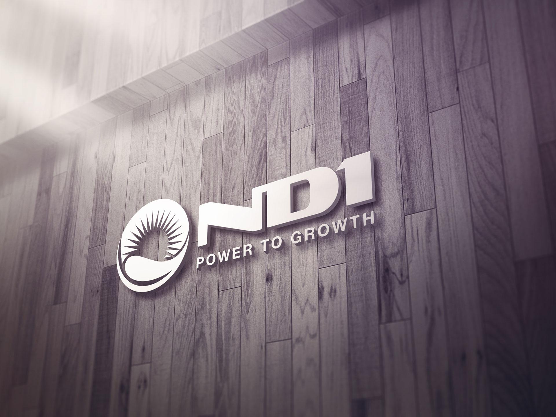 Thiết kế logo Công ty TNHH nhiệt điện Nam Định 1 tại Hà Nội