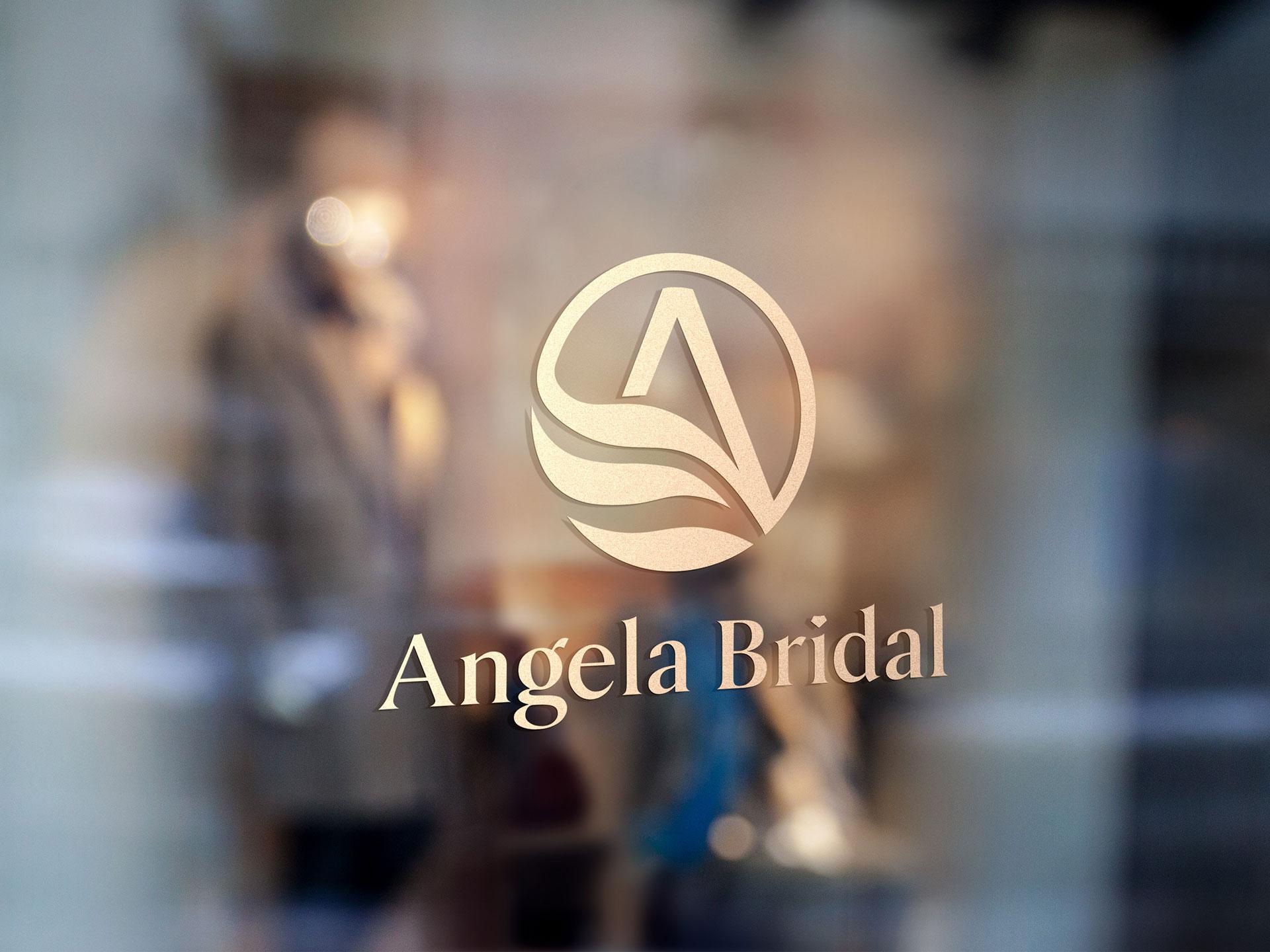 Thiết kế logo công ty Angela Bridal tại TP HCM