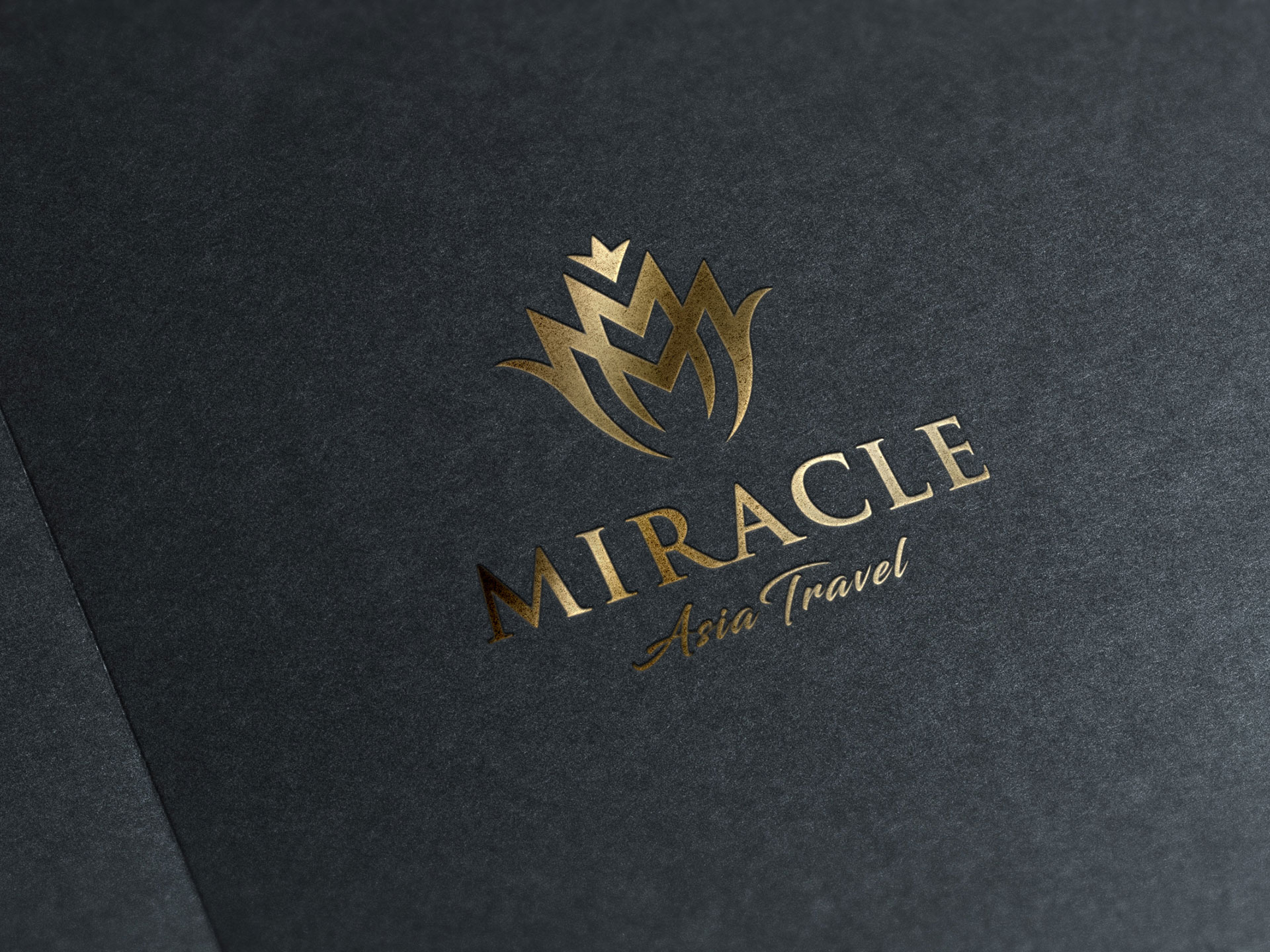 Thiết kế logo, Bộ nhận diện và Brochure Công ty du lịch Châu Á Diệu Kỳ tại Hà Nội
