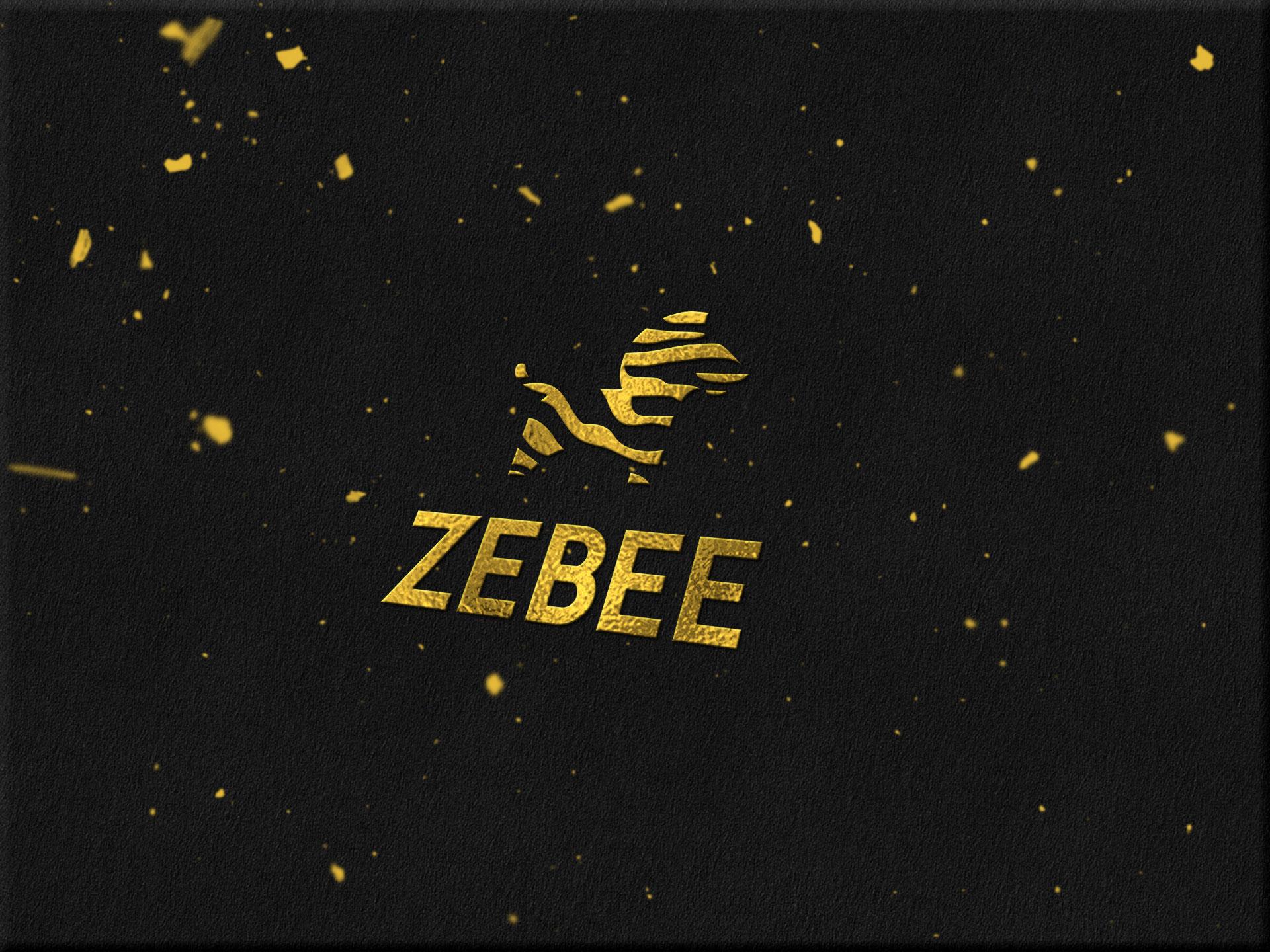 Thiết kế logo thương hiệu trà sữa Zebee tại Hà Nội, Hải Phòng