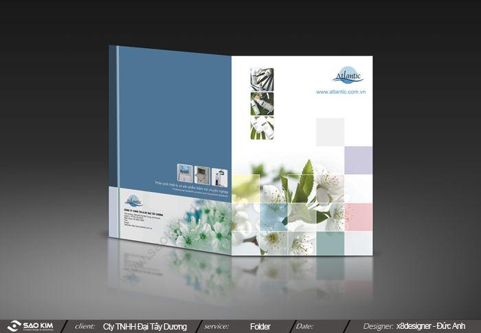 Dự ấn thiết kế thương hiệu cho ATLANTIC SPA tại Hà Nội, TP HCM