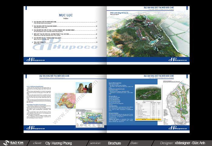 Thiết kế profile và nhận diện cho HUPOCO tại Quảng Ninh
