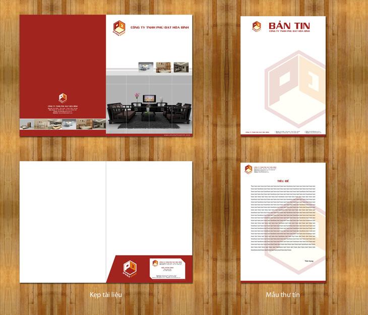 Thiết kế nhận diện thương hiệu cho công ty nội thất