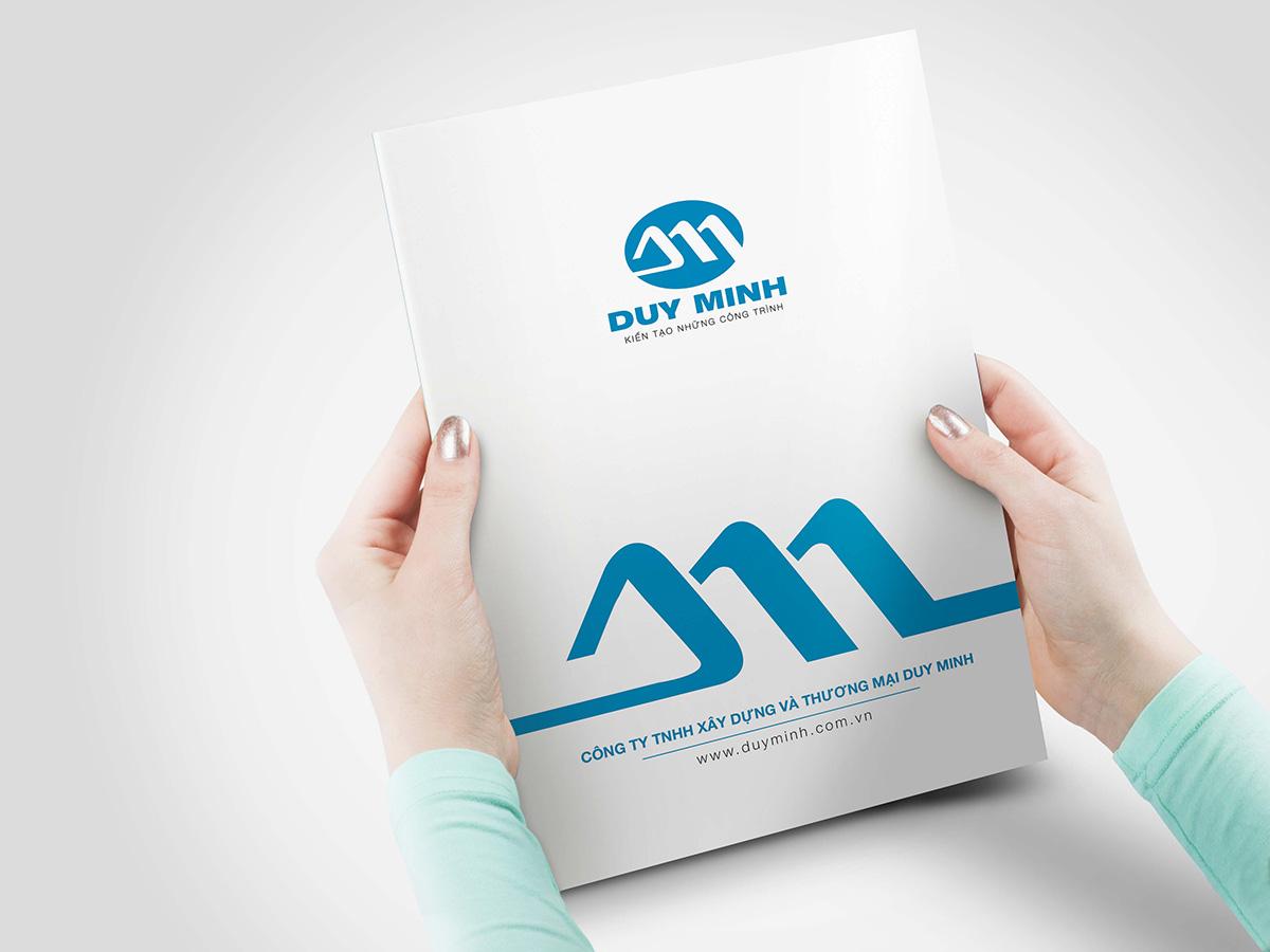 Thiết kế logo, bộ nhận diện thương hiệu, profile công ty Duy Minh tại Nam Định