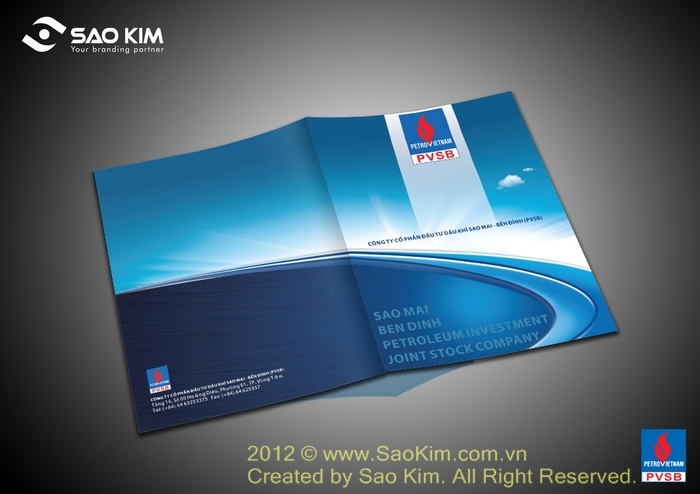 Thiết kế profile Công ty CP Đầu tư Dầu khí Sao Mai - Bến Đình tại Bà Rịa Vũng Tàu