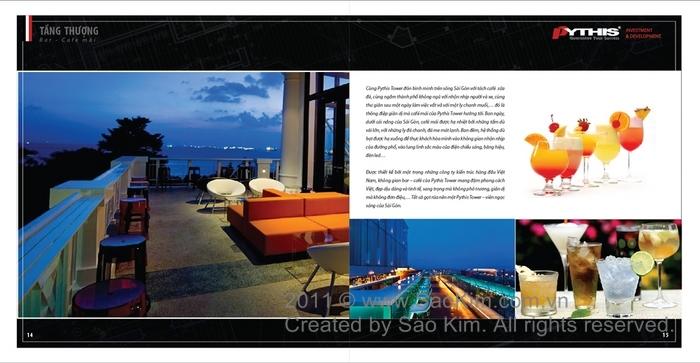 Thiết kế Brochure giới thiệu dự án Pythis Tower tại TP HCM