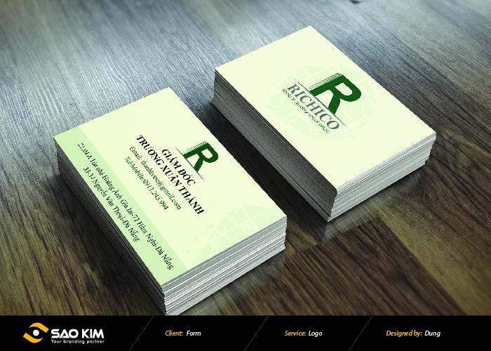 Thiết kế logo, đặt tên thương hiệu Richico tại Đà Nẵng