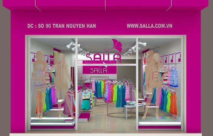 Thiết kế thương hiệu thời trang mặc nhà SALLA tại Hà Nội, Hải Dương, Hải Phòng, TP HCM