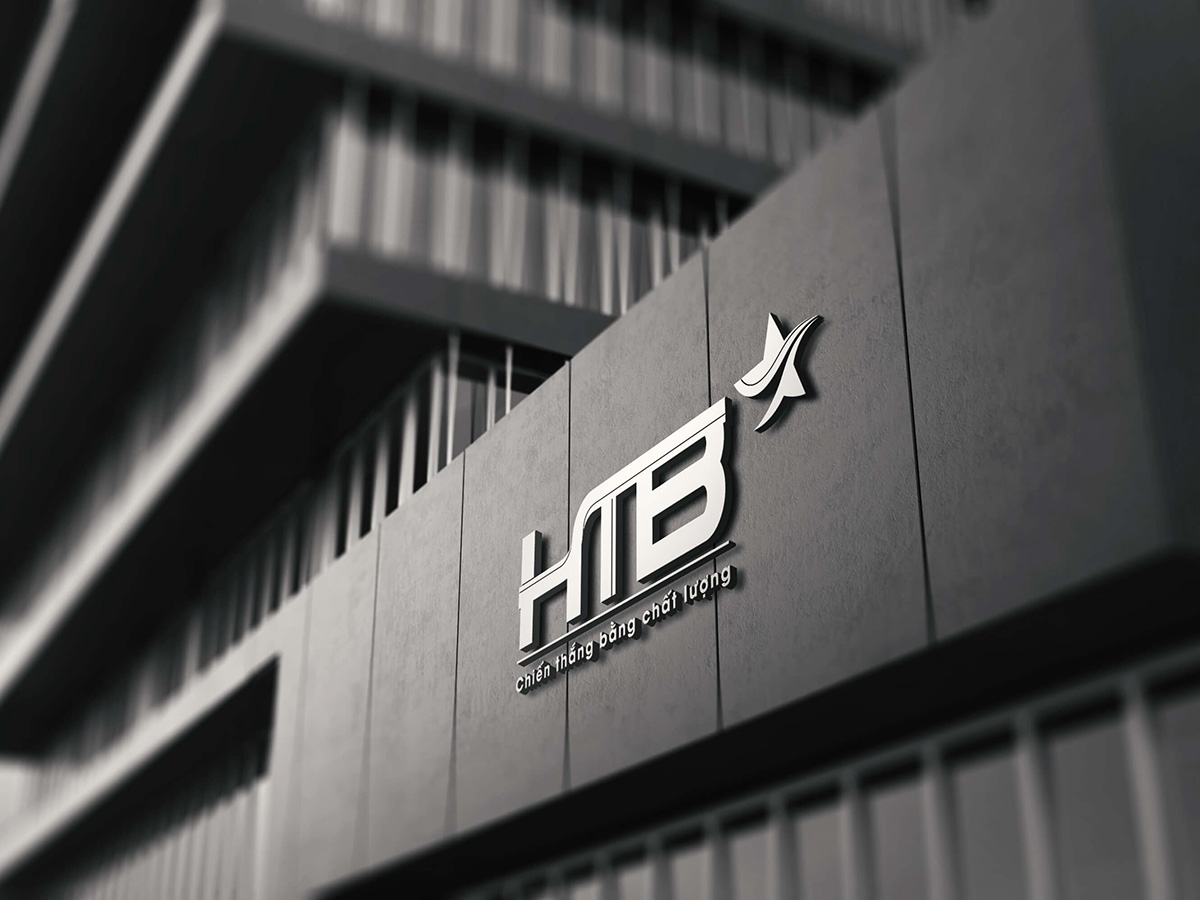 Thiết kế logo công ty cổ phần HTB Việt Nam tại Hà Nội