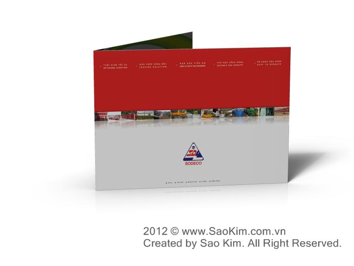 Thiết kế profile cho Công ty cổ phần SOMECO Sông Đà tại Hà Nội