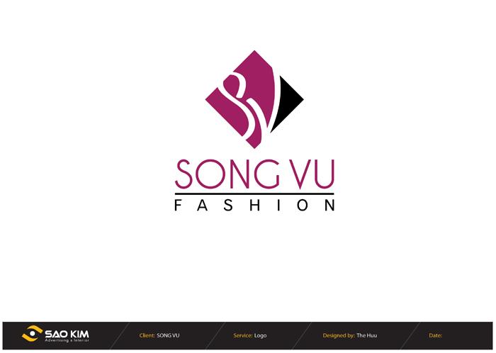 Thiết kế thương hiệu Công ty thời trang Song Vũ tại TP HCM
