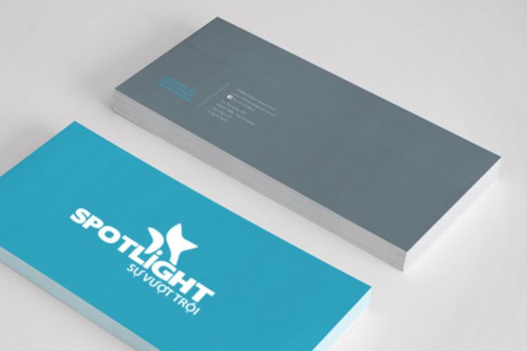 Thiết kế logo và profile thức ăn chăn nuôi Spotlight tại Đồng Nai