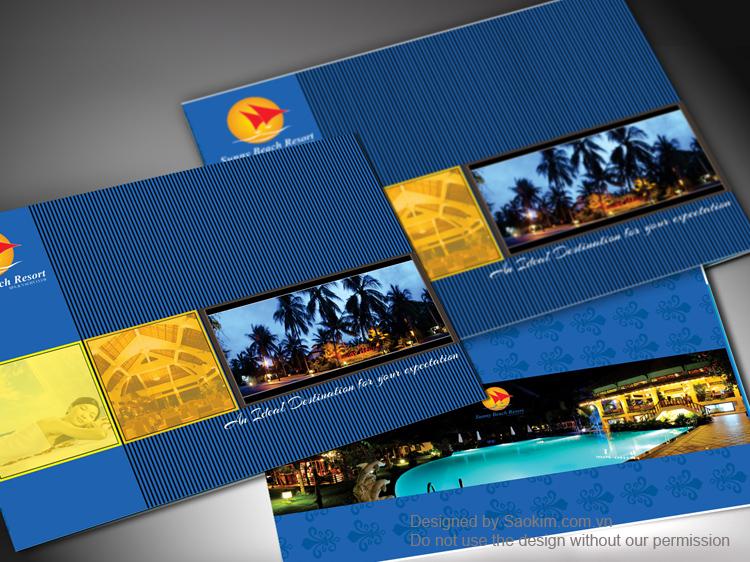 Thiết kế thương hiệu cho resort 4* tại Mũi Né tại Bình Thuận, TP HCM