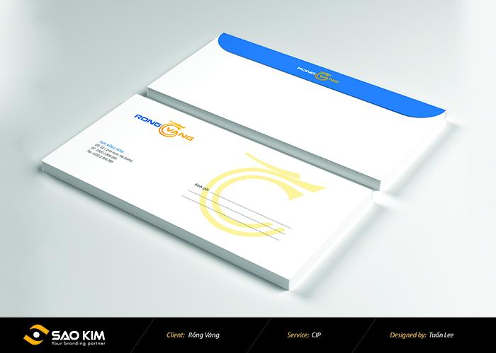 Thiết kế logo nhận diện thương hiệu Taxi Rồng Vàng tại Hải Dương