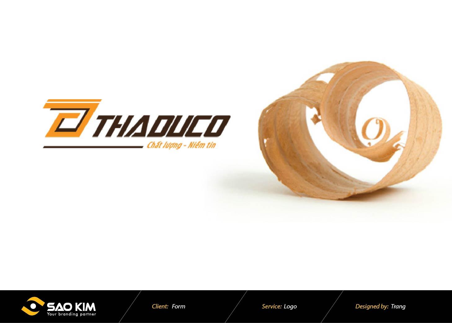 Thiết kế logo THADUCO tại Hà Nội
