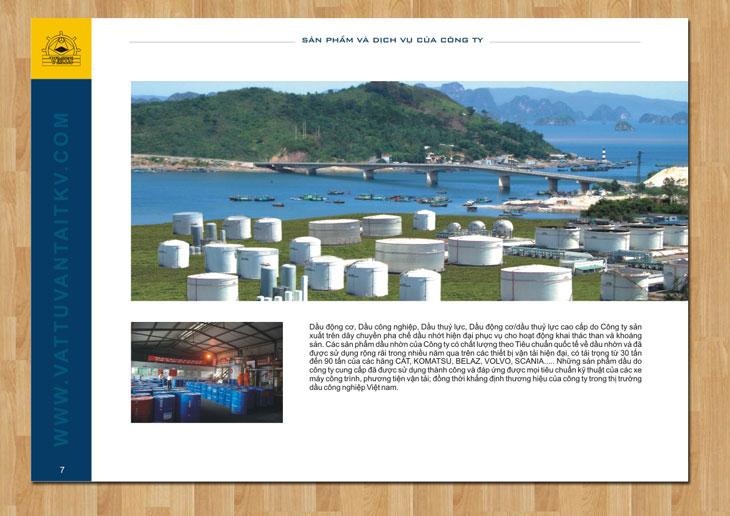 Thiết kế profile cho TKV Group tại Quảng Ninh