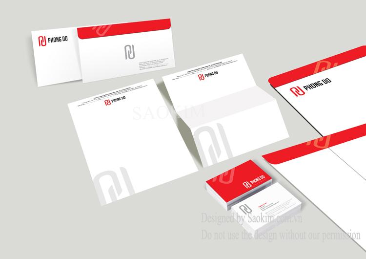Dự án thiết kế logo và nhận diện thương hiệu Phong Đô tại Bình Dương, TP HCM