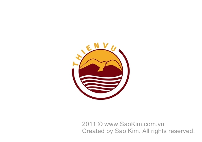 Thiết kế logo và nhận diện thương hiệu rượu Thiên Vũ tại Sơn La