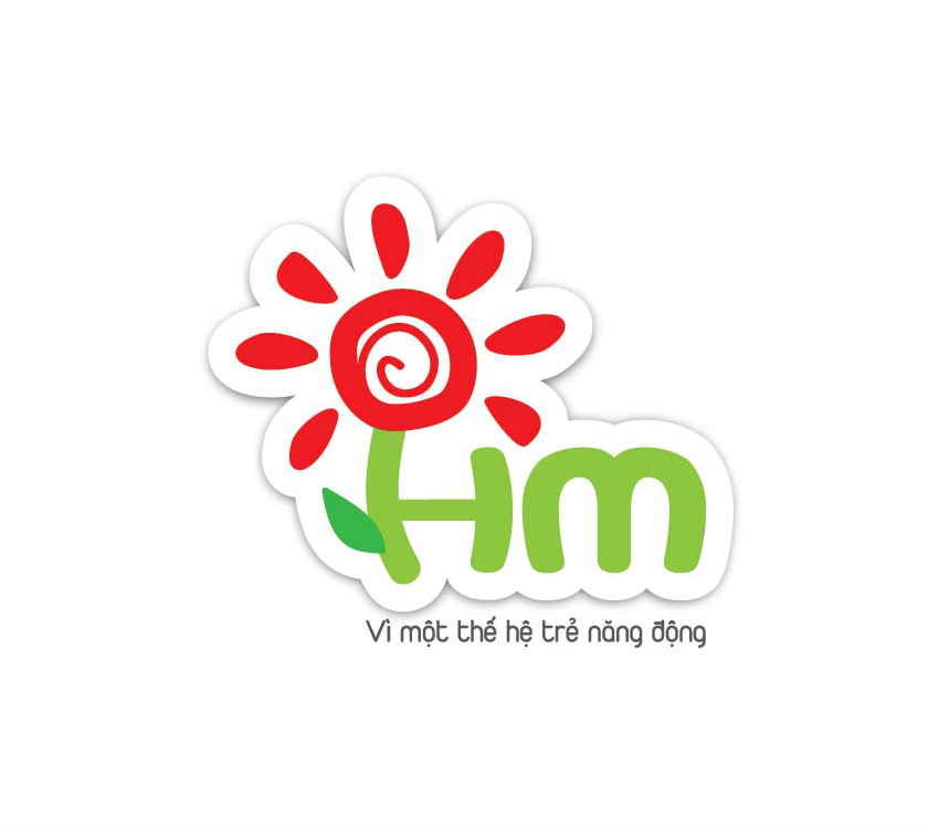 Thiết kế logo, nhận diện thương hiệu thiết bị giáo dục Hóa Mầu tại Hà Nội