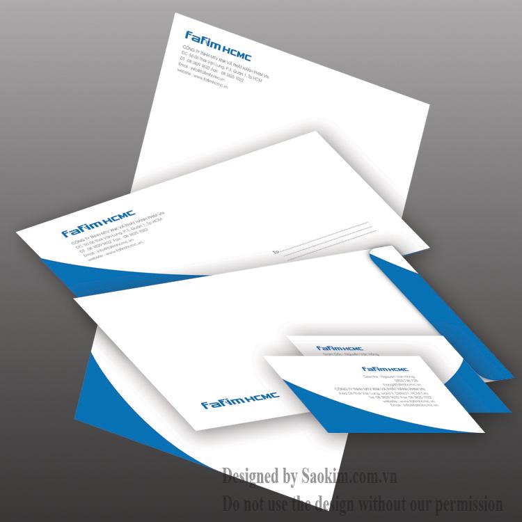 Thiết kế logo và nhận diện thương hiệu Fafim HCMC tại TP HCM
