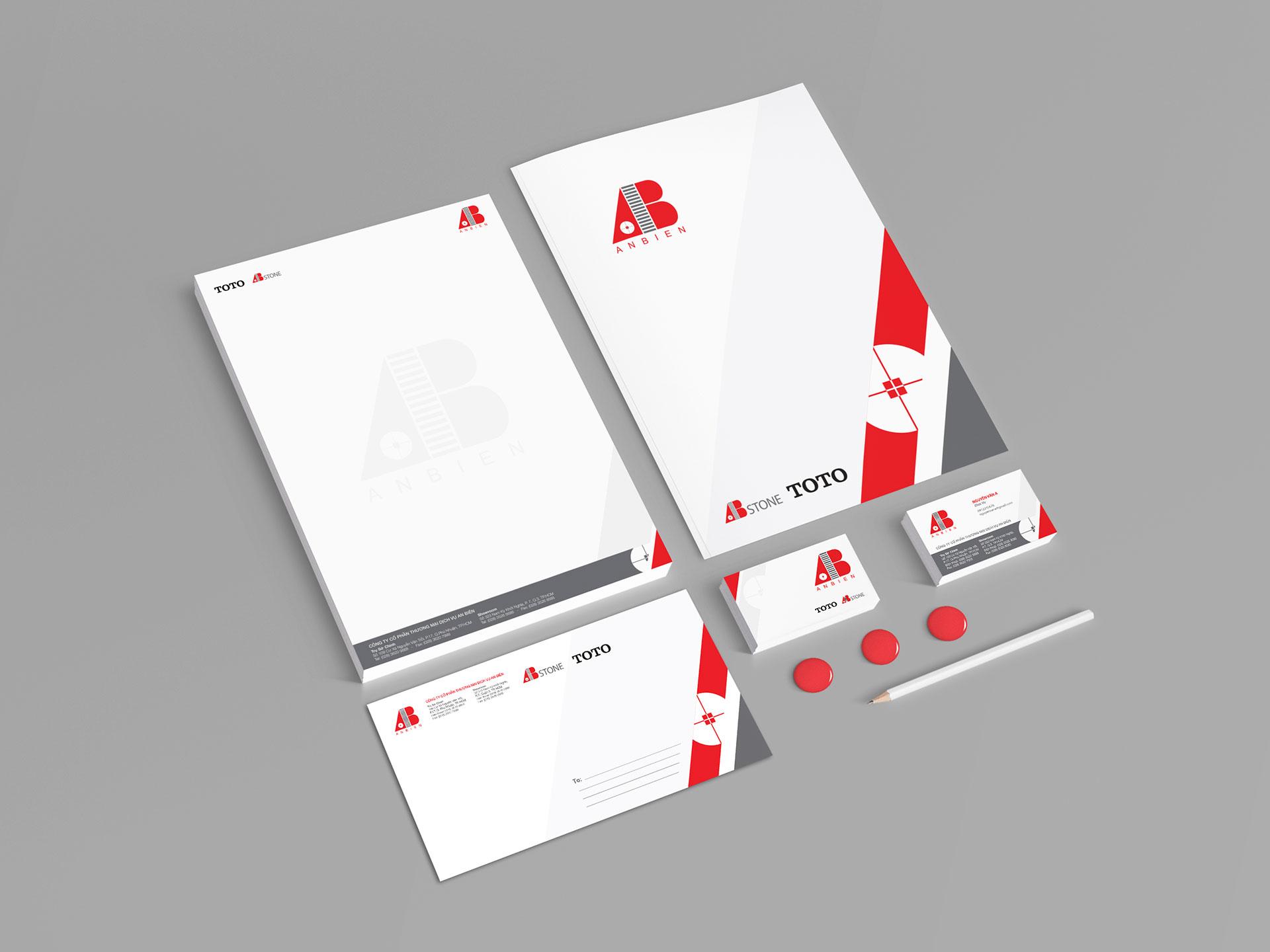 Thiết kế bộ nhận diện thương hiệu cho Công ty Cổ phần TMDV An Biên tại TP HCM