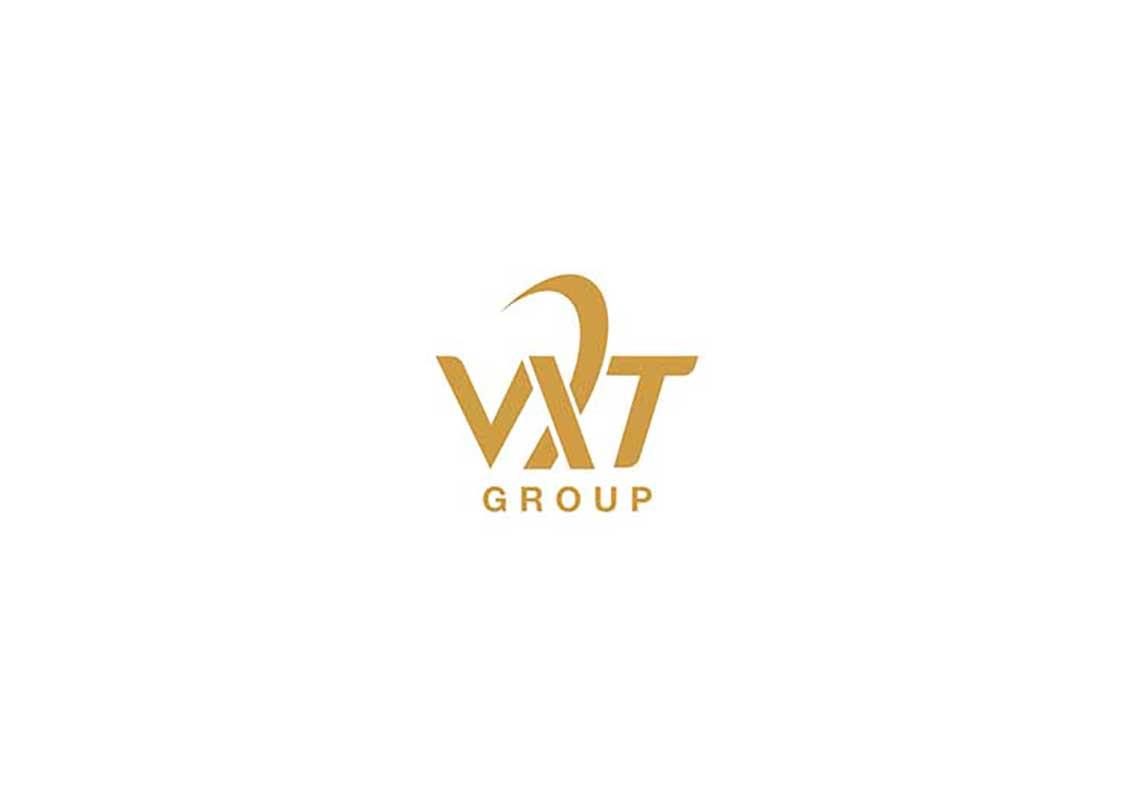 Thiết kế logo tập đoàn VXT tại Hà Nội