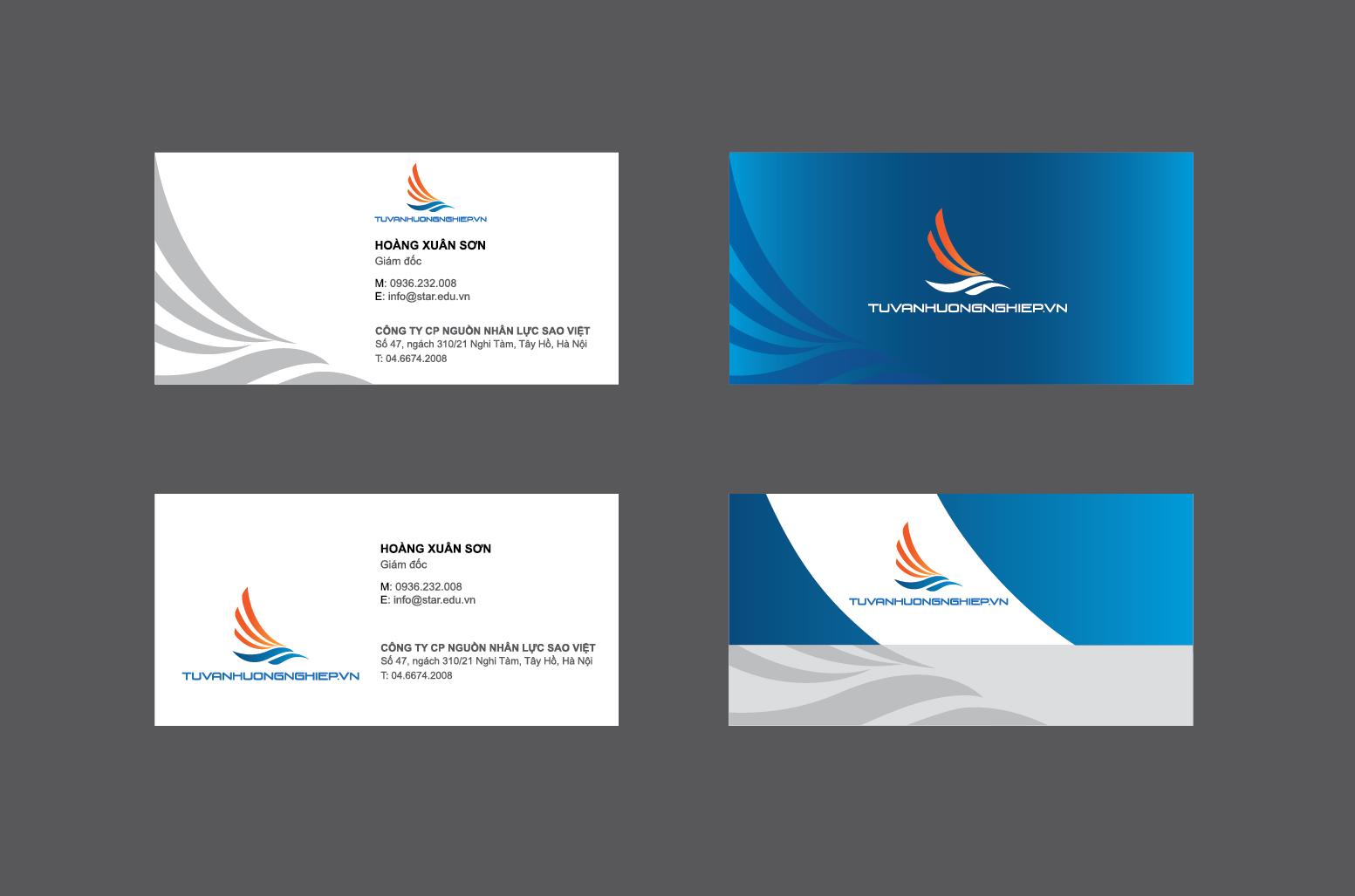 Thiết kế logo nhận diện thương hiệu Tư Vấn Hướng Nghiệp tại Hà Nội