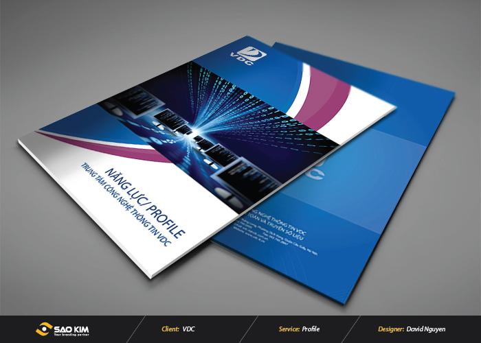 Thiết kế profile công ty VDC tại Hà Nội