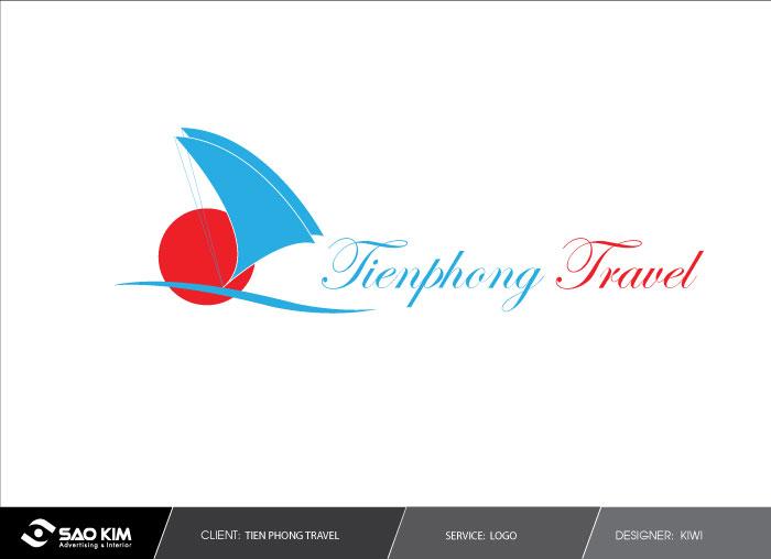 Thiết kê logo du lịch Tiền Phong Travel tại Hà Nội