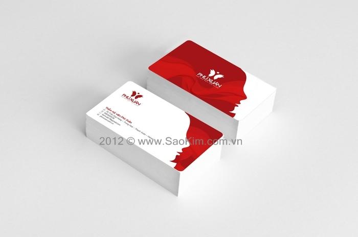 Thiết kế thương hiệu Thẩm mỹ viện Phú Xuân tại Hà Nội