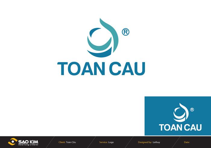 Thiết kế logo công ty xây dựng thể thao Toàn Cầu tại TP HCM