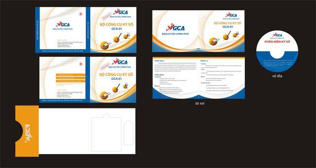 Thiết kế thương hiệu cho Trung tâm chứng thực điện tử chuyên dùng Chính phủ tại Hà Nội