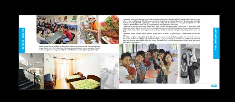 Thiết kế brochure giới thiệu chương trình học tại TP HCM